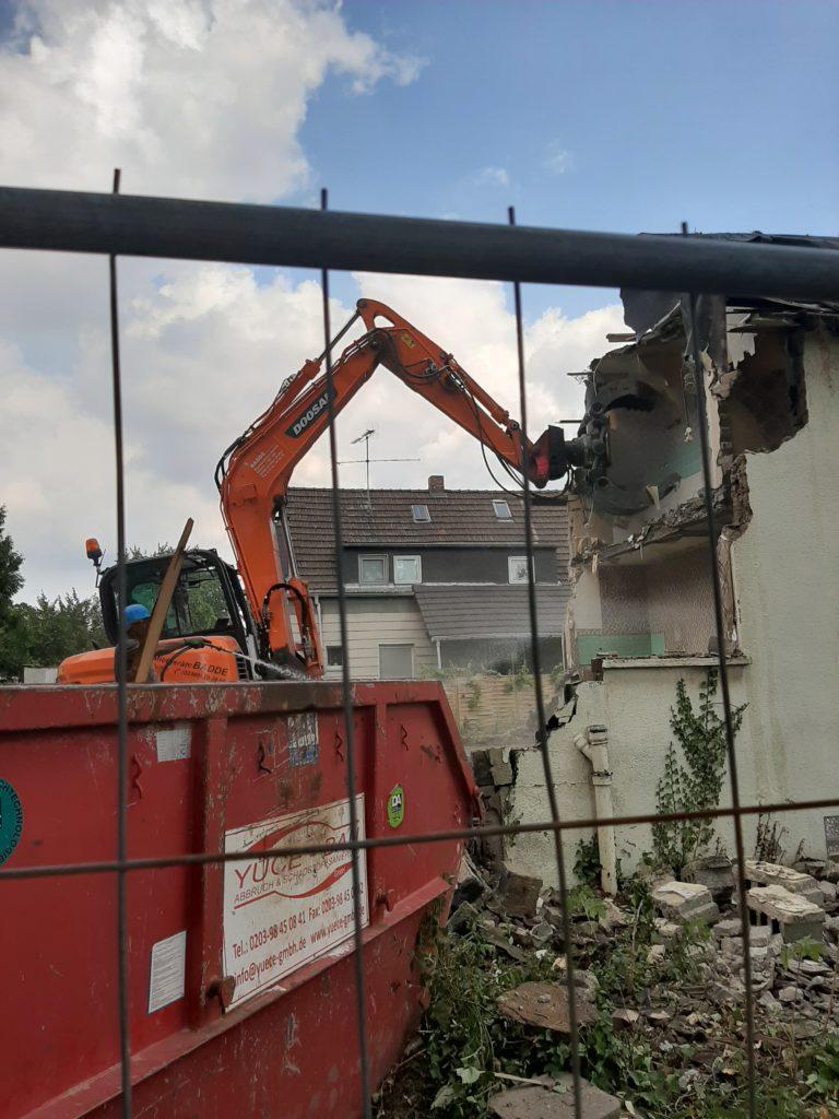 Abrissunternehmen Abbruchunternehmen NRW Duisburg